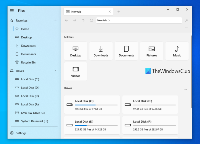 file manager app windows 10