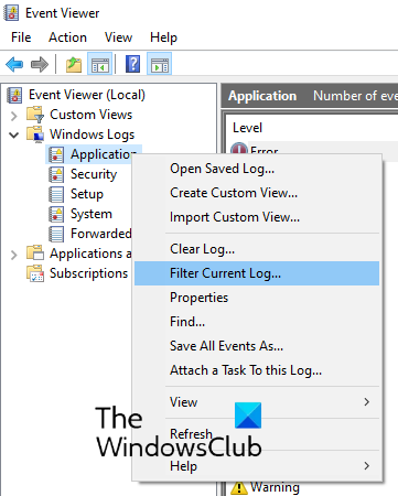 find Chkdsk results in Event Viewer_2