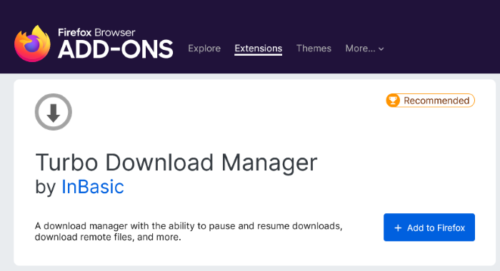 increase download speed in Firefox 5