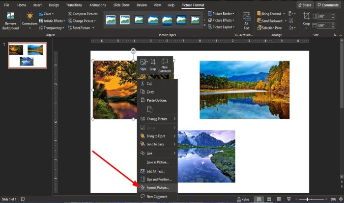 How to create a Picture Cube in PowerPoint