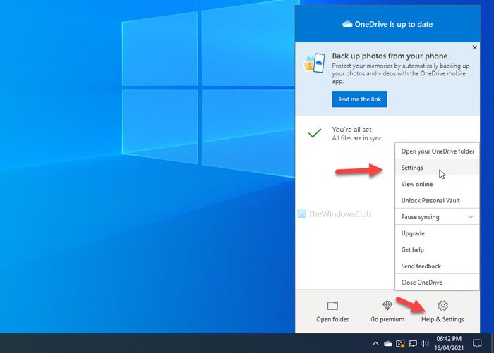 How to turn off OneDrive On this day notification on Windows 10
