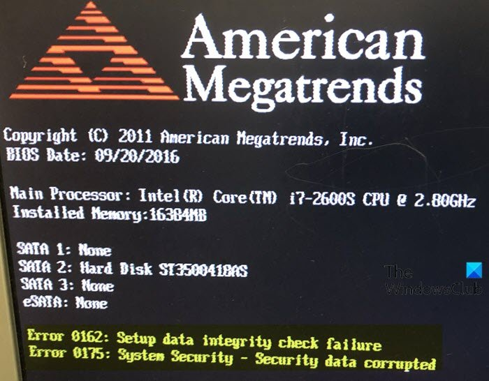 Fix BIOS Power-On Self-Test (POST) errors on Windows 10 systems