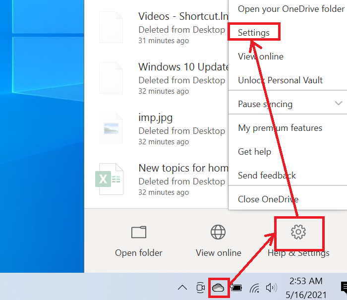 How to check the OneDrive storage space on your computer