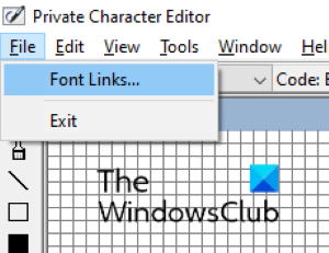 Private character editor 1