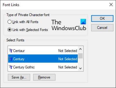 Private character editor 2