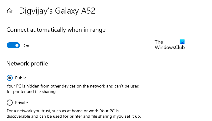 Stop Windows 10 From Connecting Automatically to a Wi-Fi Network using Settings
