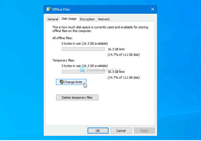 Fix Always available offline option is missing in context menu