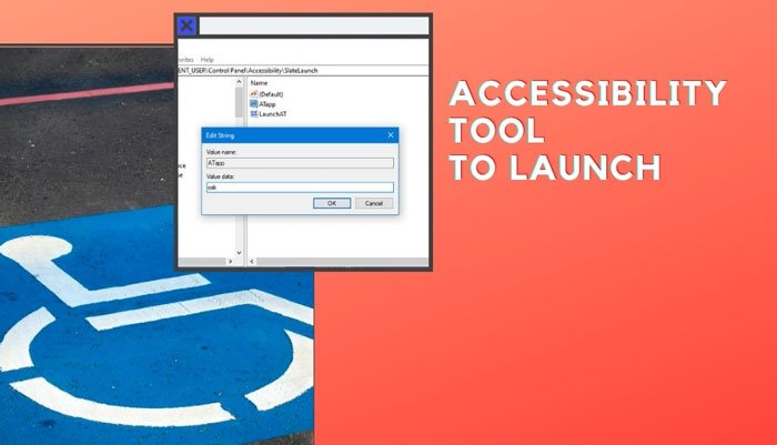 Change the Accessibility tool that launches when you use Win+Vol