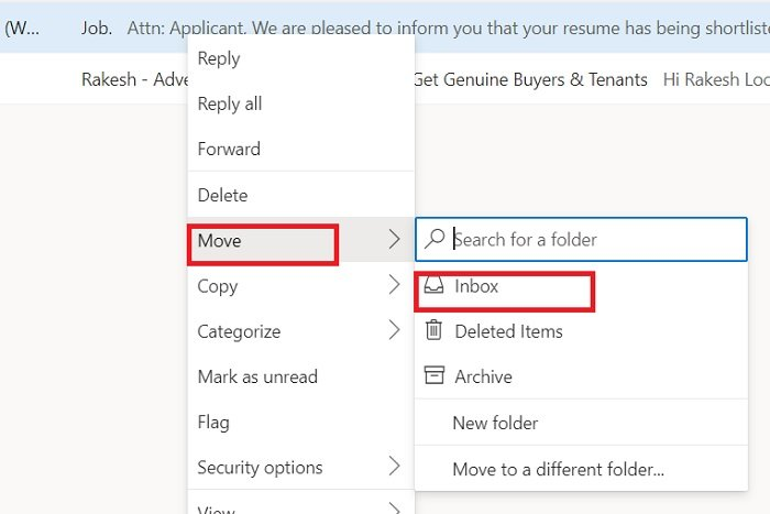 How to stop Email from going to Junk in Outlook