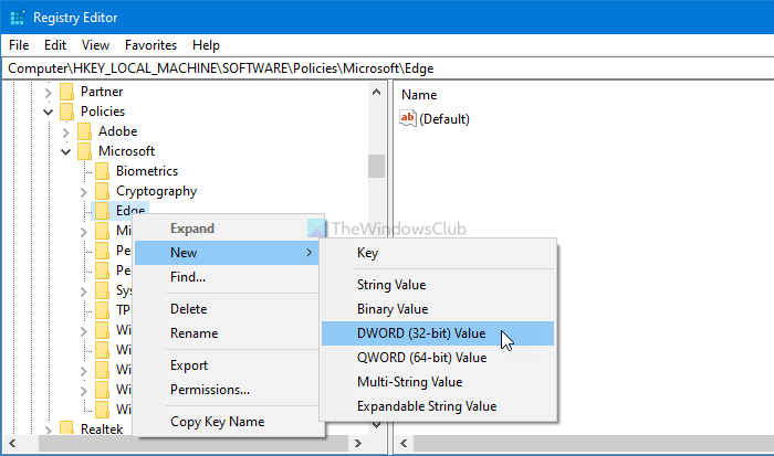 How to enforce Google SafeSearch in Microsoft Edge
