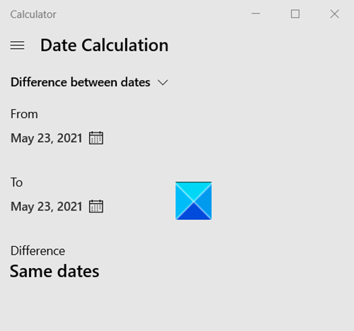 Find Date Difference