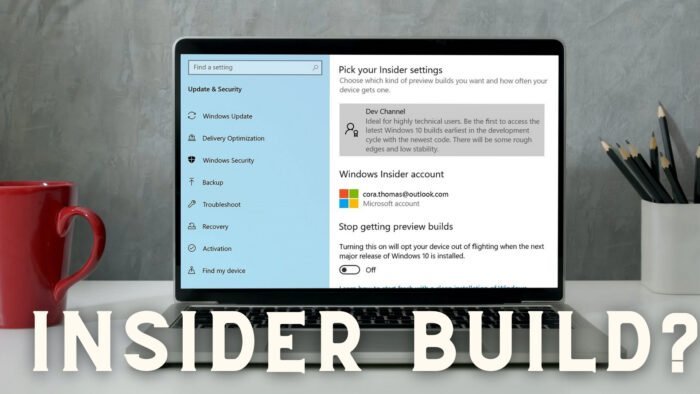 How to check if you are Flighting or on Windows Insider Build