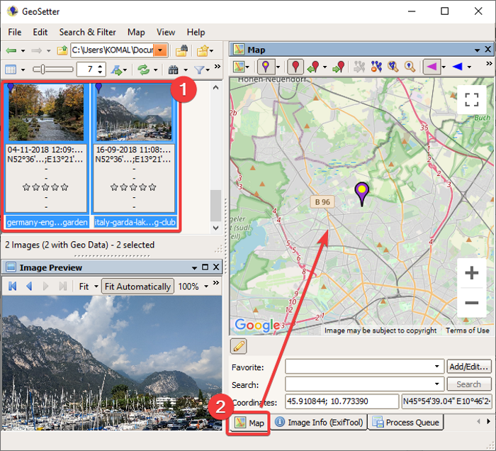 Geotag a Picture in Windows 10