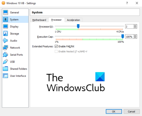 how to speed up virtual machine 2