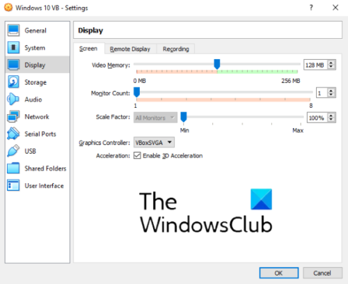how to speed up virtual machine 3