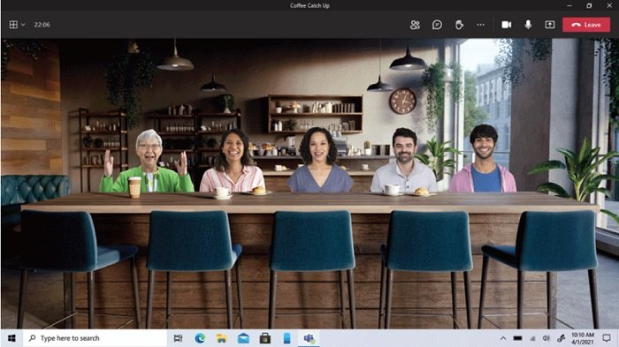 use Personal Features in Microsoft Teams