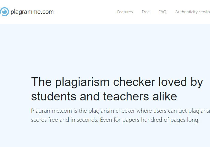 Plagiarism Checker Tools and Software