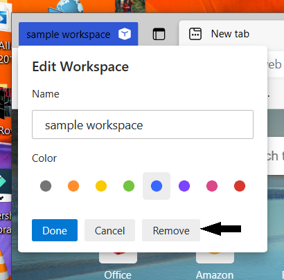 enable and use Workspaces on Microsoft Edge