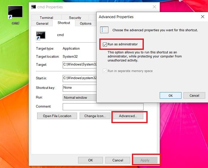 How to always run Command Prompt and PowerShell as Administrator