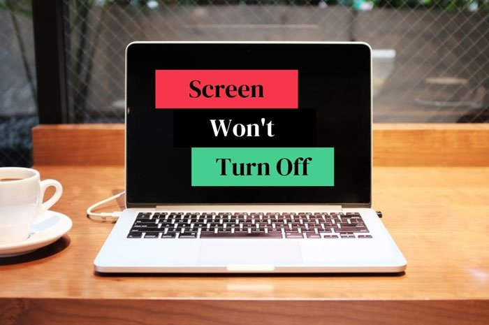 Screen won't turn off after specified time in Windows 10