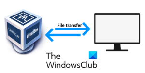 transfer files VM and host computer