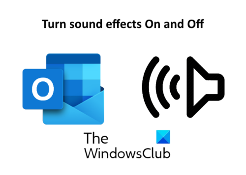 turn sound on and off outlook