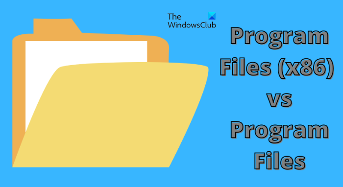 """Difference Between """"Program Files (x86)"""" and """"Program Files"""" Folders"""