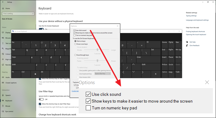 How to Turn Off Keyboard Sound in Windows 10
