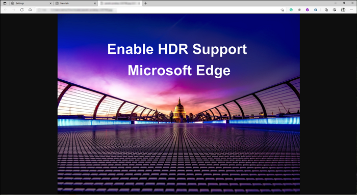 Enable HDR Support in Edge