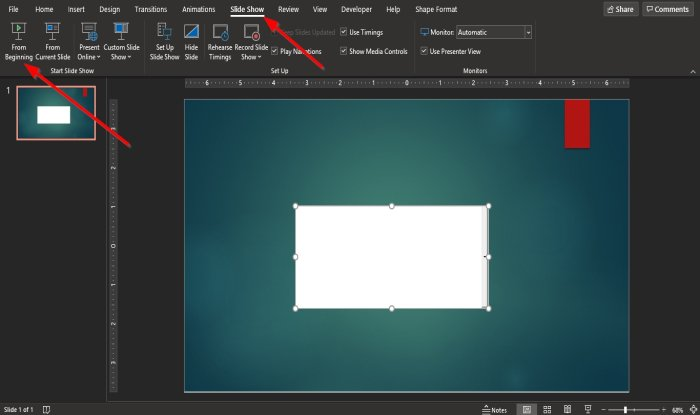 How to insert drop-down menu in PowerPoint