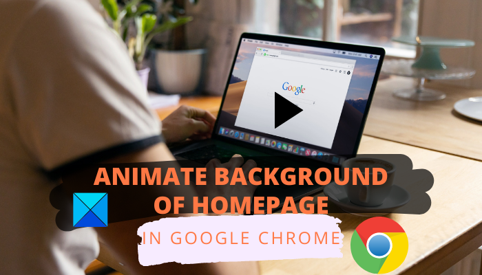 How to Animate background of homepage in Chrome