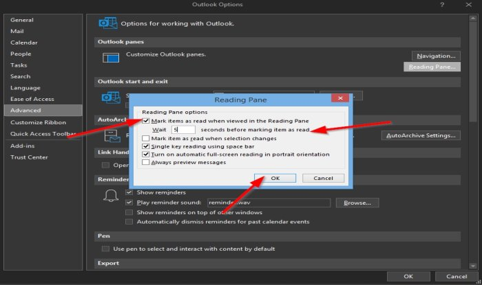 How to mark an email message as Read in Outlook
