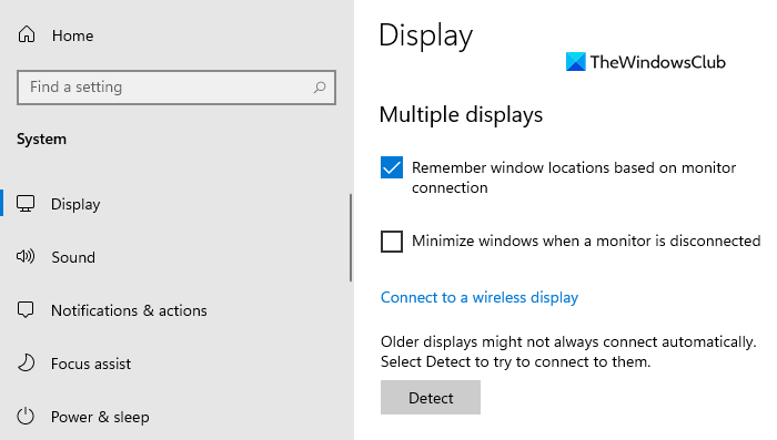 Stop minimizing Windows when a monitor is disconnected on Windows 11