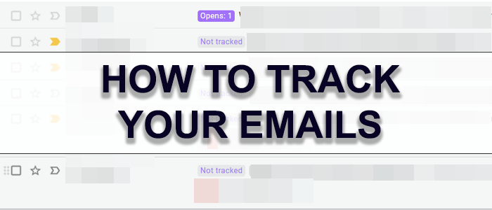 Track your emails
