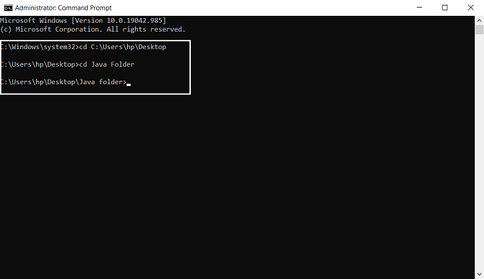 How to run a Java program using Command Prompt