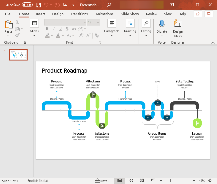 How to Create a Roadmap in PowerPoint