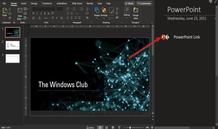 How to import a PowerPoint file to OneNote