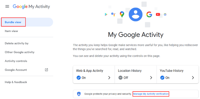 password protect google search history 3