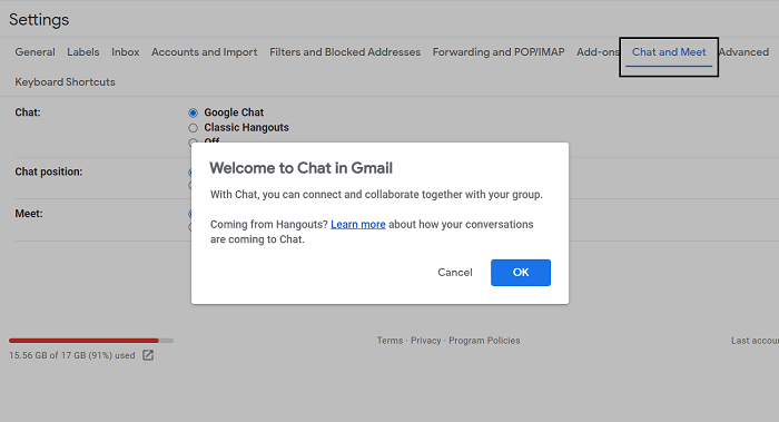 How to set up Google Workspace for free in Gmail