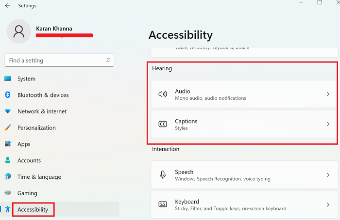 Windows 11 Accessibility Settings and Features
