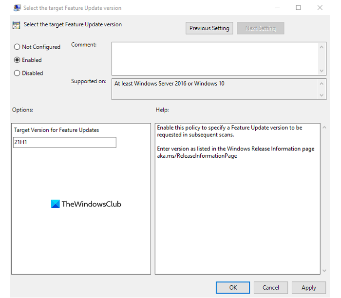 Block the Windows 11 using Group Policy