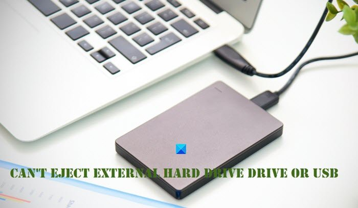 Can't eject External Hard drive Drive or USB