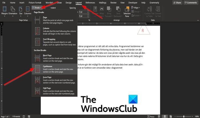 How to lock and protect Header and Footer in Word