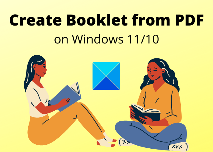 How to create a Booklet from PDF document in Windows 11/10