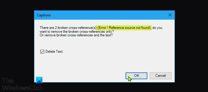 Error! Reference source not found