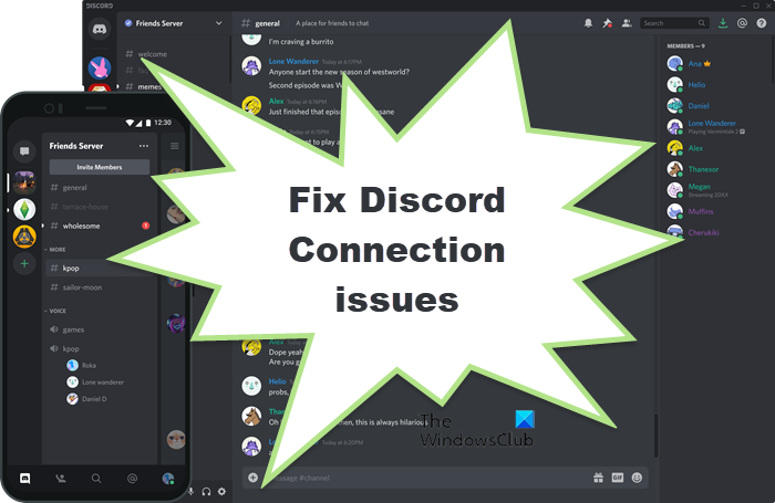 Fix Discord Connection issues
