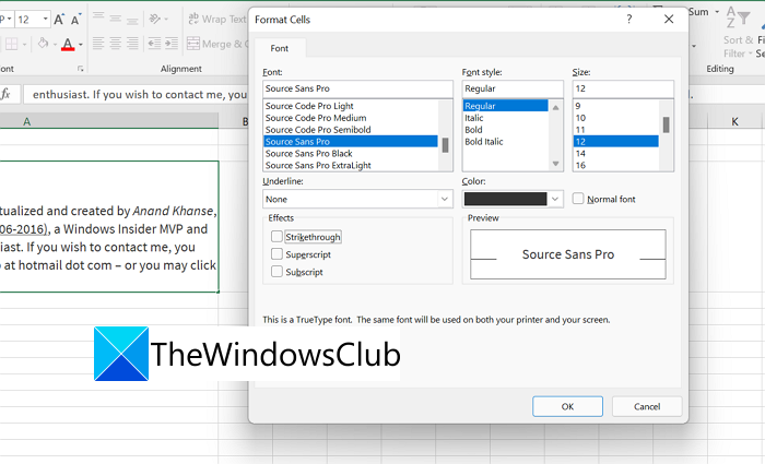 How to add Multiple Formatting to your Text in a Single Cell in Excel
