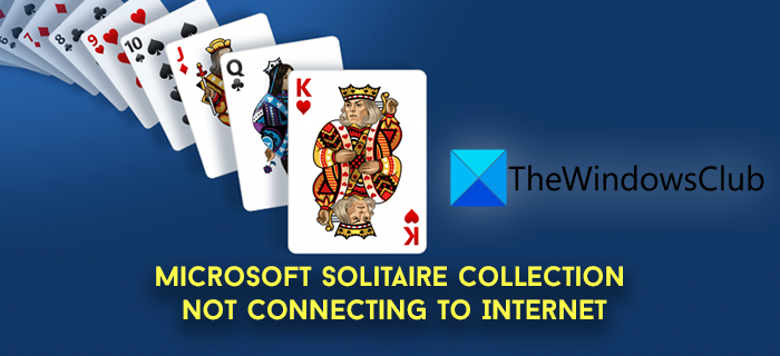 Microsoft Solitaire Internet Connection