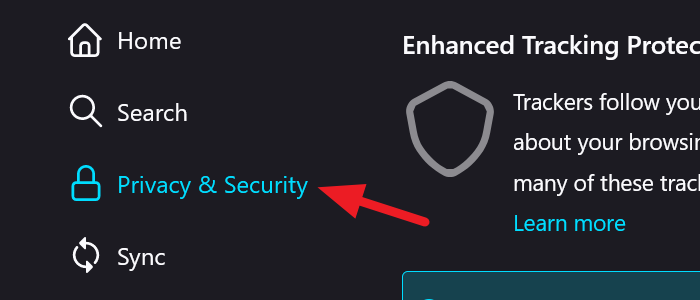 Privacy & Security in Firefox
