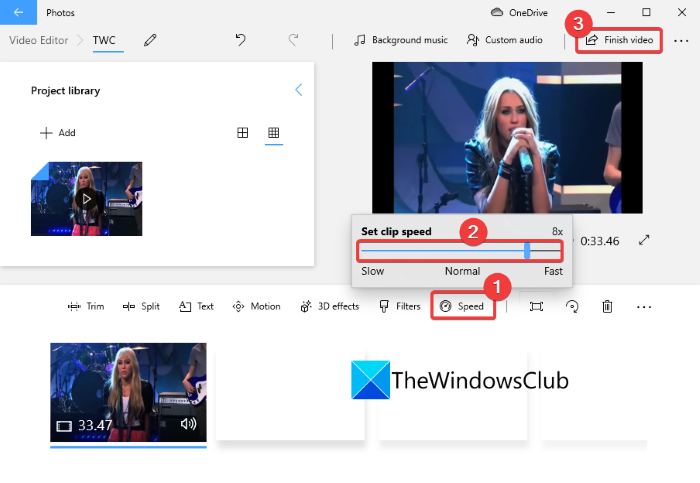 How to Create a Fast Motion Video in Windows 11/10